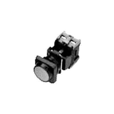 Advance Controls 104302, 22mm Non Metallic, Non Illuminated, Square Extended Button - Red