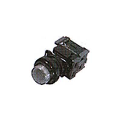 Advance Controls 121231,22mm Non Metallic Push To Test Pilot Light-Full Volt. Sq. Push Button-Yellow