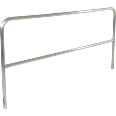 """84"""" Long Aluminum Construction Pipe Safety Railing"""