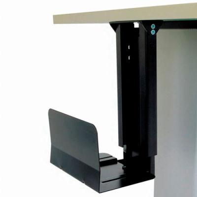 CPU Under Desk Holder with Slide and Swivel Adjustment