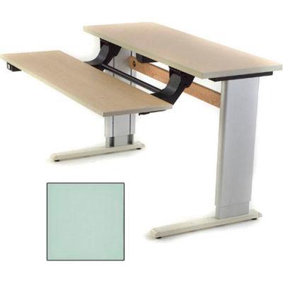 Infinity™ Powered Height Adjustable Bi-Level Workstation - Gray