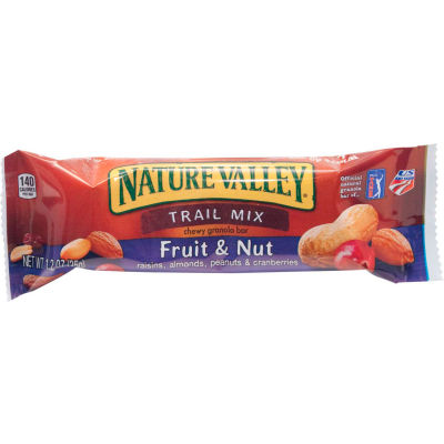 Nature Valley® Chewy Trail Mix Bar, Fruit & Nut, 1.2 Oz., 16 Bar Box - Pkg Qty 8