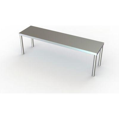 "Aero Manufacturing 40-1260 16 Gauge Riser Shelf - Stainless Steel - 60""W x 12""D"