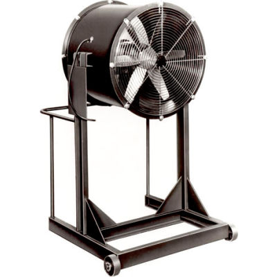 """Americraft 36"""" EXP Aluminum Propeller Fan With High Stand 36DAL-2H-3-EXP 2 HP 17500 CFM"""