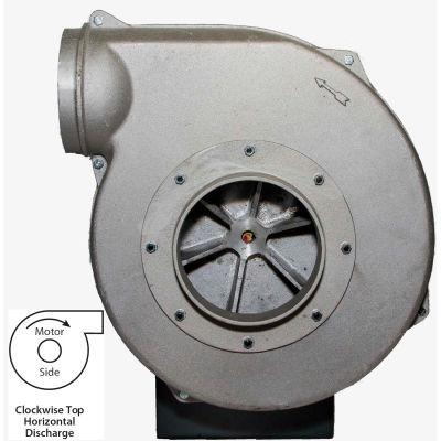 Americraft Aluminum Blower, HADP15-15-T-TE-CWTH, 15 HP, 3 PH, TEFC, CW, Top Horizontal