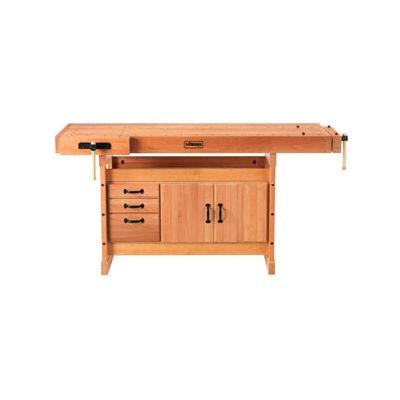 Sjobergs SJO-66736K - Scandi Plus 1825 Workbench, Trestle and SJO-33457 Cabinet