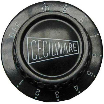 Thermostat Dial 1-10 For Cecilware, CECM008A