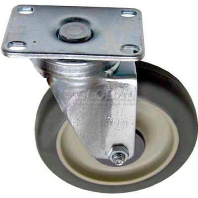 Plate Mount Caster 5 W 2-3/8 x 3-5/8 For Imperial, IMP1060