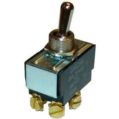 Toggle Switch 1/2 DPST For Hatco, HATR02.19.006.00