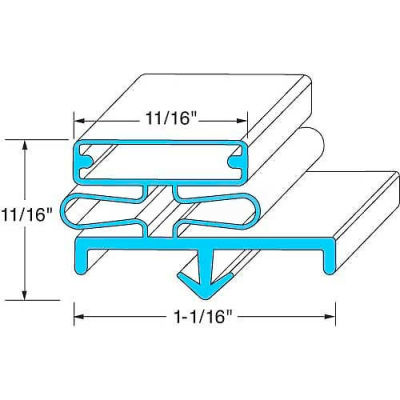 Door Gasket For Glastender, GLS11000068