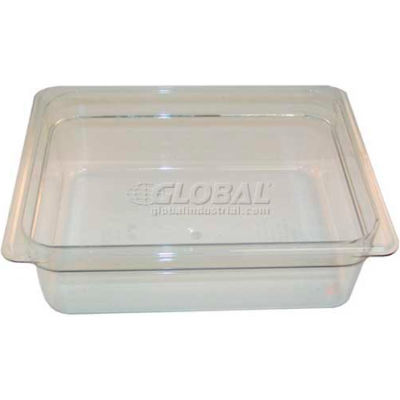 Pan Poly Half x 4 - 135 Clear For Cambro, CAM24CW