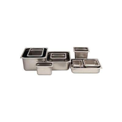 Alegacy 77122STP - 4.5 Qt. 1/2 Size Steam Table Pan Anti-Jam, 23 Ga. - Pkg Qty 12