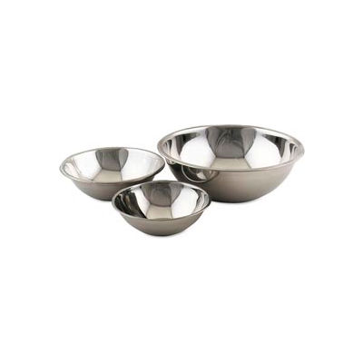"""Alegacy S777 - 8 Qt. Stainless Steel Mixing Bowl 13.25"""" Dia. - Pkg Qty 12"""