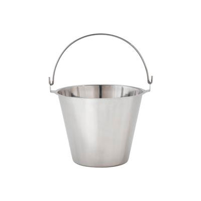 """Alegacy UP1 - Utility Pail, Stainless Steel, Handle 10-1/4""""H"""