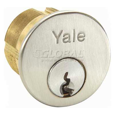 "Yale® Mortise Cylinder, 626 Para Keyway, 1-1/8""L"