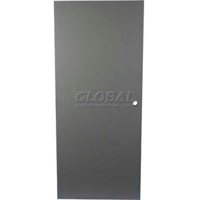 """CECO Hollow Steel Security Door, Flush, Cylindrical Prep, CECO Hollow Hinge, 18 Ga, 32""""W X 80""""H"""