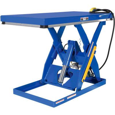 Rotary Air Powered Hydraulic Scissor Lift Table AHLT-4848-3-43 48x48