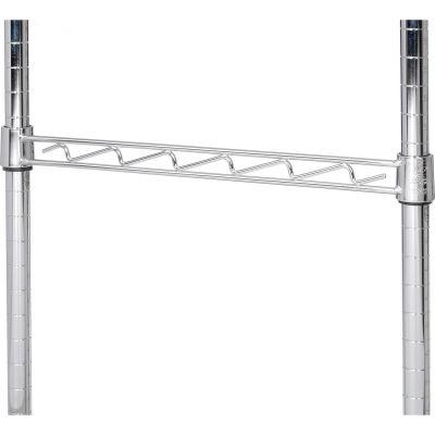 """Nexel® AHR18C Chrome Hanging Rail 18"""""""