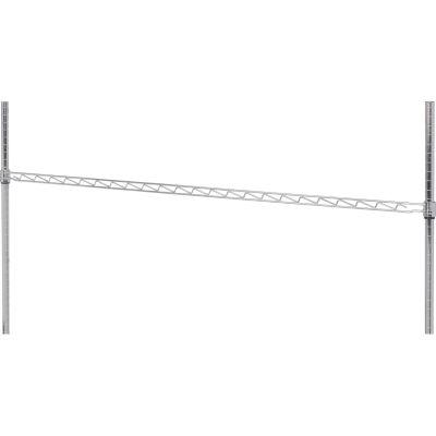 """Nexel® AHR60C Chrome Hanging Rail 60"""""""