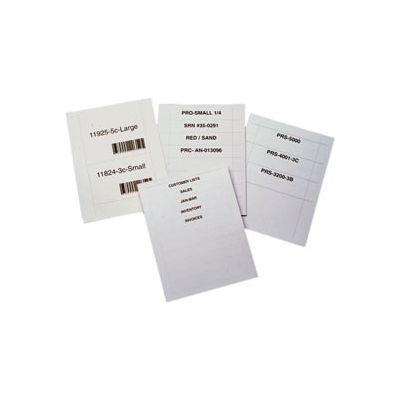 """Laser Insert Sheets, Letter - Pref. 1-1/4"""" x 3"""" (800 pcs/pkg)"""