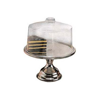 American Metalcraft 19SET - Cake Stand & Cover, 13-1/2 Dia. x 7-1/2 High
