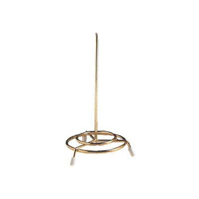 """American Metalcraft GCS37 - Check Spindle, 3"""" x 6"""" , Brass Plated"""