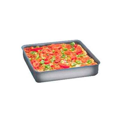 "American Metalcraft HCSQ1220 - Deep Dish Pan, Straight Sided, 12"" x 12"" x 2"" Deep, Hard Coat"