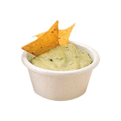 American Metalcraft MRS200W - Ramekin, 2 Oz. Cap, Smooth Sided, White