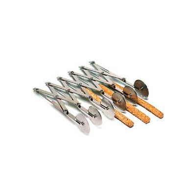 """American Metalcraft MWPC6X2 - Multi-Wheel Pastry Cutter, (6) 2"""" Parallel Wheels, Closed"""