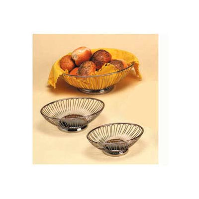 "American Metalcraft OBS69 - Basket, Oval, 9"" x 5-7/8"""
