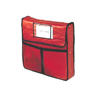"""American Metalcraft PB2400 - Pizza Delivery Bag, 24"""" x 24"""", Holds 2-22"""" Boxes"""