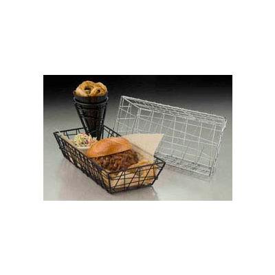 American Metalcraft ROC1362 - Zorro Basket, 13 x 6 x 2-1/2, Rectangular, Chrome