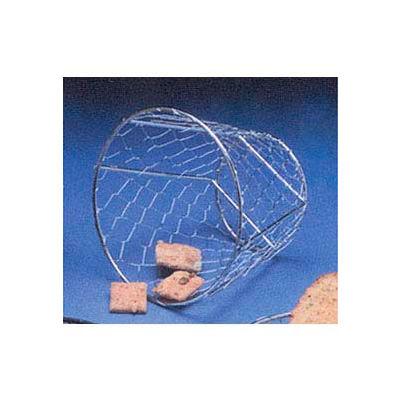 "American Metalcraft WIR1 - Basket, 7""L x 5-1/2""H, Chrome, Wire"