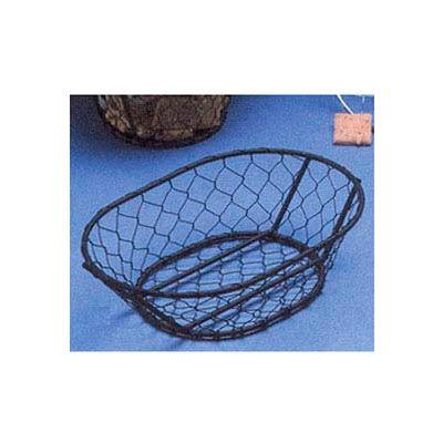 """American Metalcraft WIR4 - Basket, 9-1/2""""L x 2-1/2""""H, Black, Wire"""