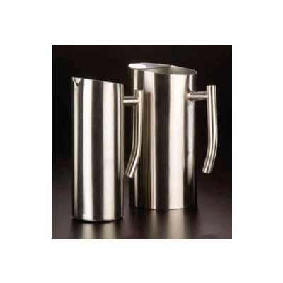 American Metalcraft WPSF33 - Water Pitcher, 33 Oz., Contemporary, Satin Finish