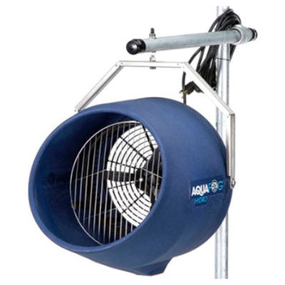 Airmaster Fan 60180 Compact Stationary Fogging Fan - Direct Feed Yoke Mount - 3.5GPH