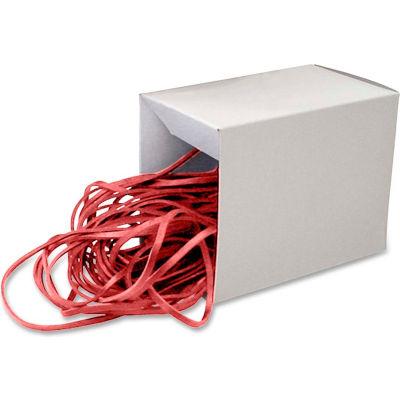 "Alliance® Can Bandz™ Rubber Bands, Medium, 12"" Length, Red, 50/Box"