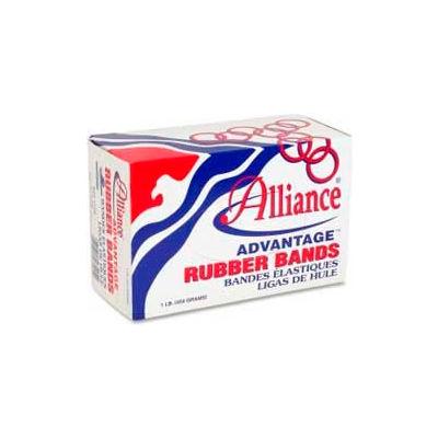 """Alliance® Advantage® Rubber Bands, Size # 8, 7/8"""" x 1/16"""", Natural, 1 lb. Box"""