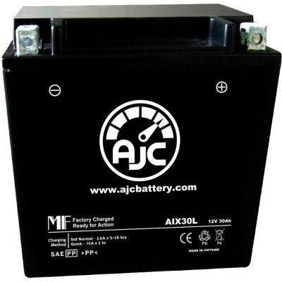 AJC Battery Moto Guzzi Stone EV 1100CC Motorcycle Battery (1994-2005), 30 Amps, 12V, B Terminals