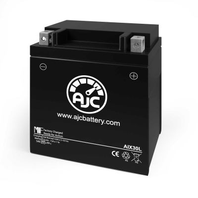 AJC® Piaggio APE CAR, MP, MPR, P602 Scooter and Moped Replacement Battery