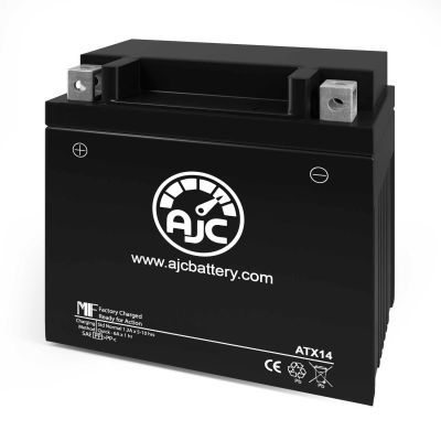 AJC® Kawasaki KVF750 Brute Force 750 750CC ATV Replacement Battery 2005-2018