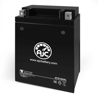 AJC® Cagiva Blues 125CC Motorcycle Replacement Battery 1987-1995