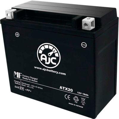 AJC Battery Arctic Cat Mudpro 1000H1 1000CC ATV Battery (2010-2011), 18 Amps, 12V, B Terminals