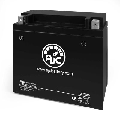 AJC® Arctic Cat XF1100 T1100 ZR 5000 1100CC Snowmobile Replacement Battery 2014-2017