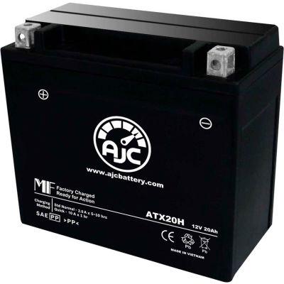 AJC Battery Arctic Cat Sabercat 500 Snowmobile Battery (2004-2006), 20 Amps, 12V, B Terminals