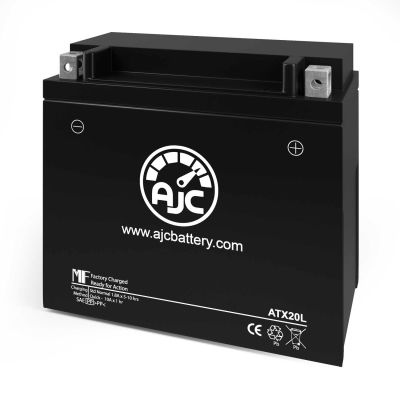 AJC® Polaris Turbo Switchback Turbo Dragon 750CC Replacement Battery 2006-2010