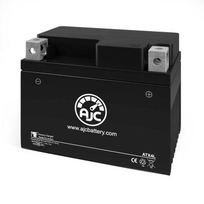 AJC® Hyosung Motors Rush 50CC Motorcycle Replacement Battery 2008