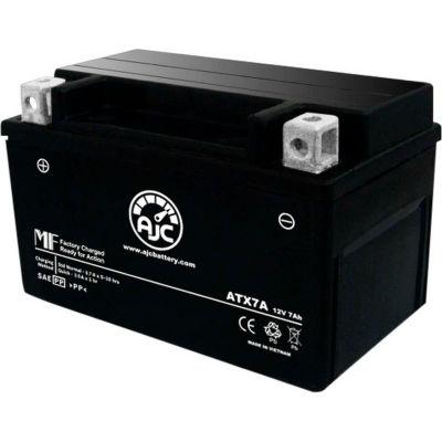 AJC Battery Suzuki QuadRacer R450 ATV Battery (2006-2010), 7 Amps, 12V, B Terminals