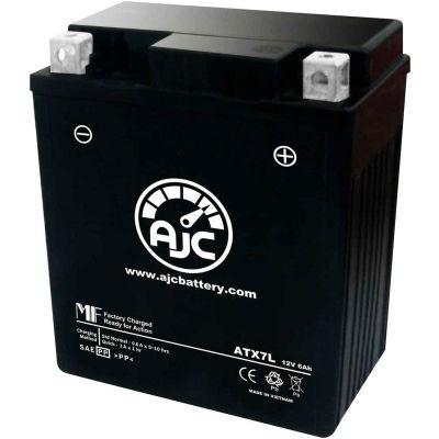 AJC Battery Kawasaki KLX140 L 140CC Motorcycle Battery (2008-2017), 6 Amps, 12V, B Terminals