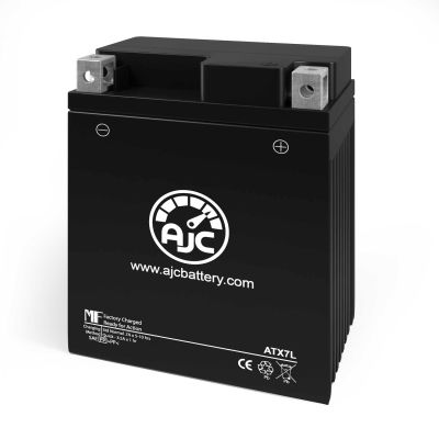 AJC® Suzuki 125 Van Van 125CC Motorcycle Replacement Battery 2003